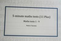 5 minute maths tests 1-9
