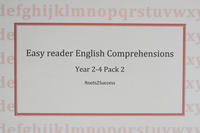 English comprehension for easy readers Pack 2