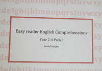 English comprehension pack 1